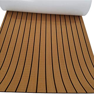 Eva Synthetic Teak Deck Mat For Boat UV Resistant 94.5
