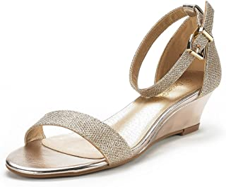ff89106f27 Amazon.com: Gold - Platforms & Wedges / Sandals: Clothing, Shoes ...