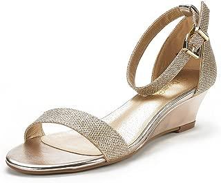 Best gold evening shoes low heel Reviews
