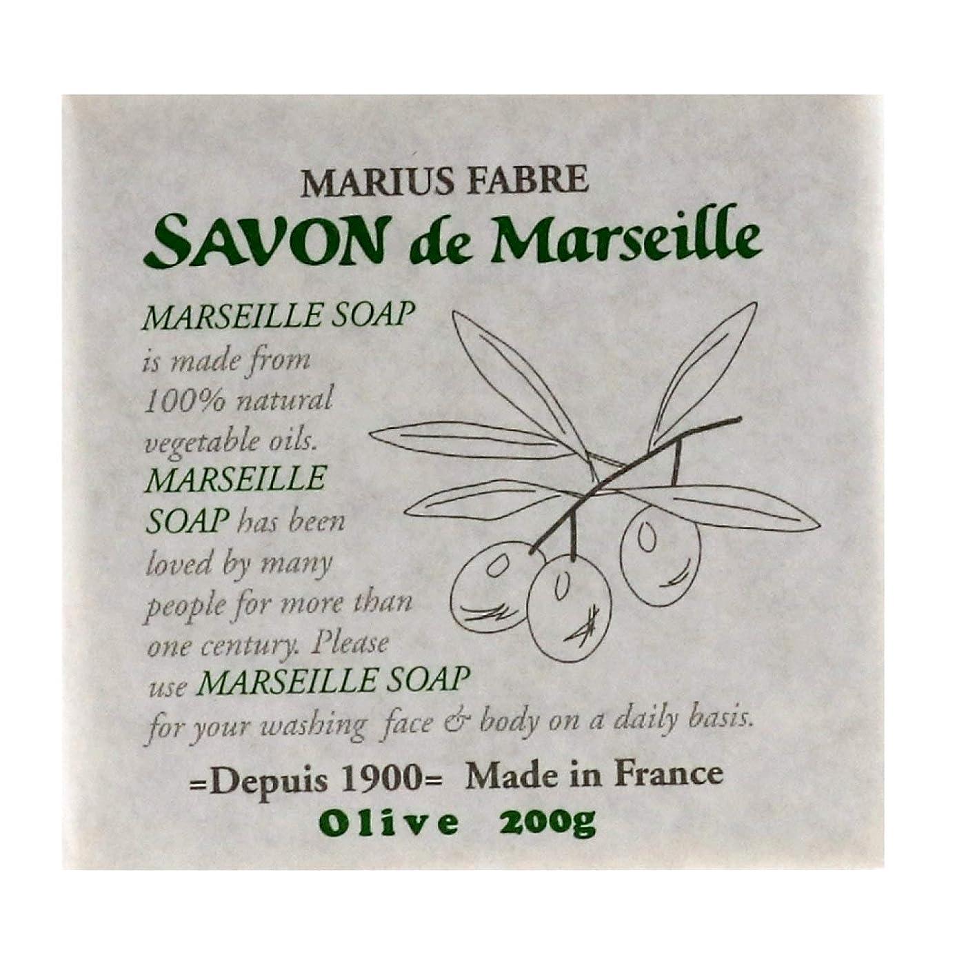 持参現実にはユダヤ人サボンドマルセイユ 無香料 オリーブ 200g
