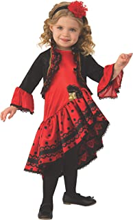 Rubie's Kid's Opus Collection Lil Cuties Spanish Dancer Costume Baby Costume, As Shown, Toddler