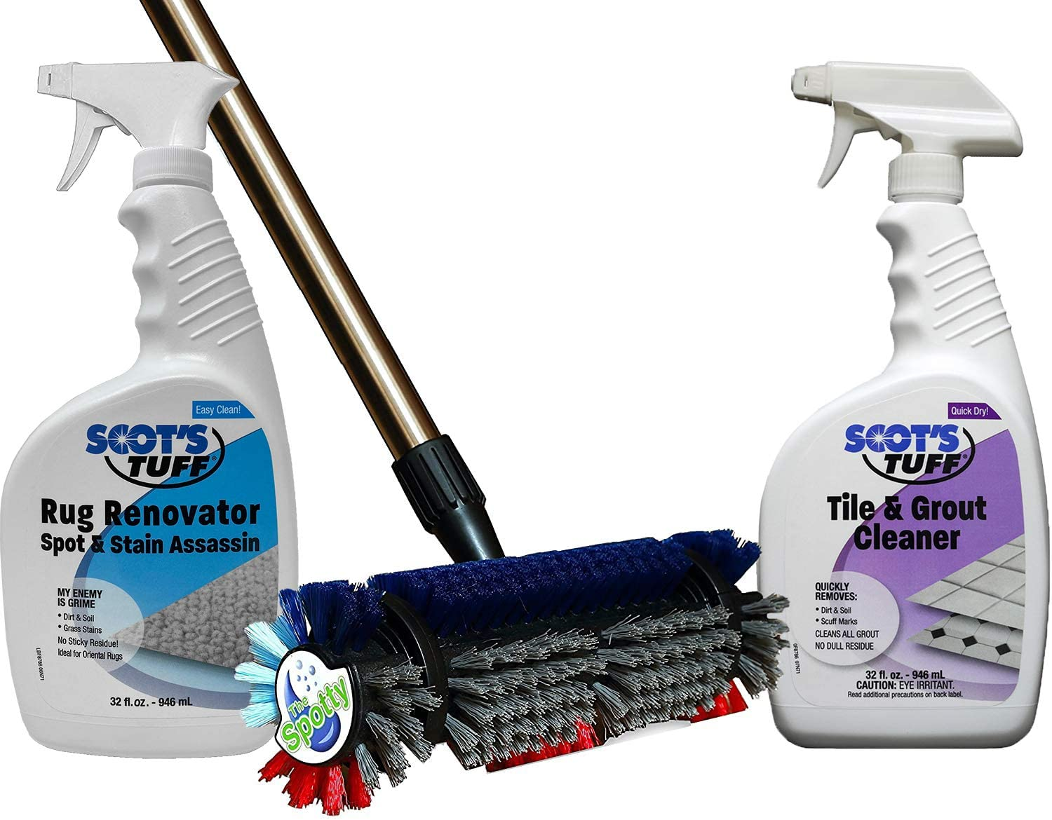 The Spotty™ Free Shipping New Carpet Floor Tile Cleaning ~ All-Purpose New arrival Kit