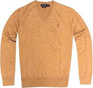 Polo Ralph Lauren Mens Pima Cotton Classic V-Neck Sweater...