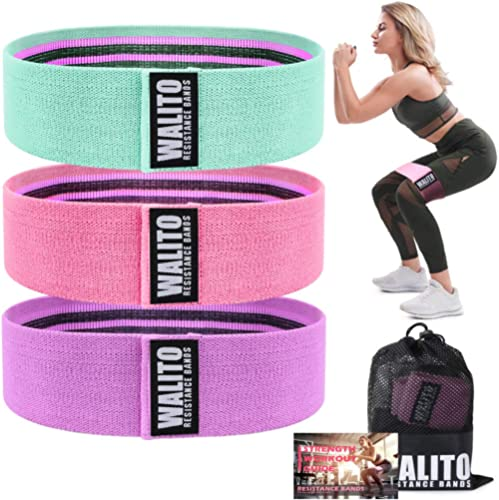Resistance Bands for Legs and Butt - Exercise Bands Set Booty Hip Bands Wide Workout Bands Sports Fitness Bands Resis...