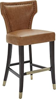 top grain leather bar stools
