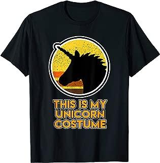 Halloween Shirt with a beautiful black Unicorn head T-Shirt