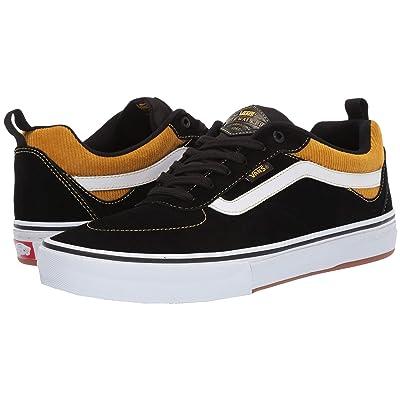 Vans Kyle Walker Pro ((Corduroy) Black/Yolk Yellow) Skate Shoes
