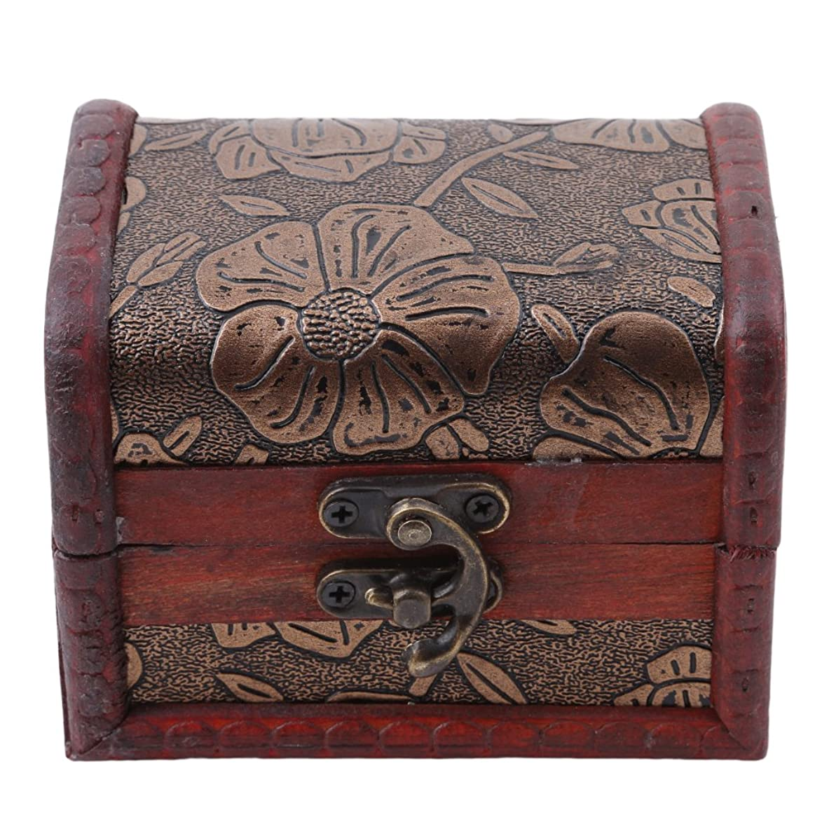 PINKING ジュエリーボックス 木製 アンティーク調 小物入れ 宝箱 オシャレ アクセサリー 小銭