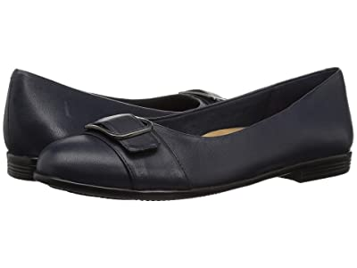 Trotters Aubrey (Navy Soft Nappa Leather) Women