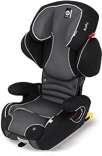 Kiddy 10525061erfix Pro Asiento Infantil para coche, Isofix, Grupo 2/3(15–36kg, aprox. 4años de 12años). negro phantom