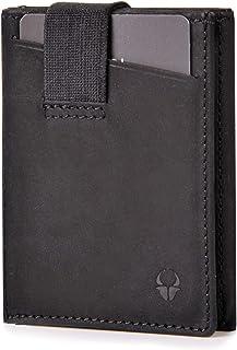 DONBOLSO® Wallety 2 I Cartera «Slim» con Compartimento para Monedas I Monedero con protección RFID I hasta 12 Tarjetas I M...