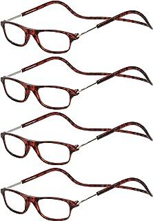TBOC Gafas de Lectura Presbicia Vista Cansada – Pack 4