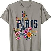 Eiffel Tower Paris Shirt Salut Flowering Paris France shirt