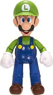 "World of Nintendo 4"" Luigi Figure with  1UP Accessory"