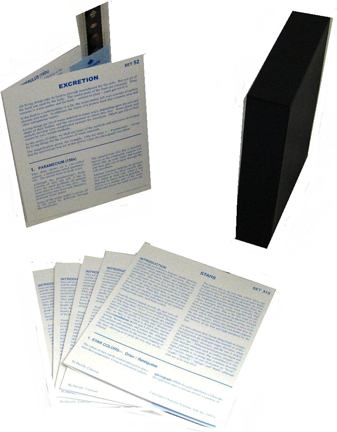 American Educational Microslide Excretion Lesson Plan Set (Box of 15)