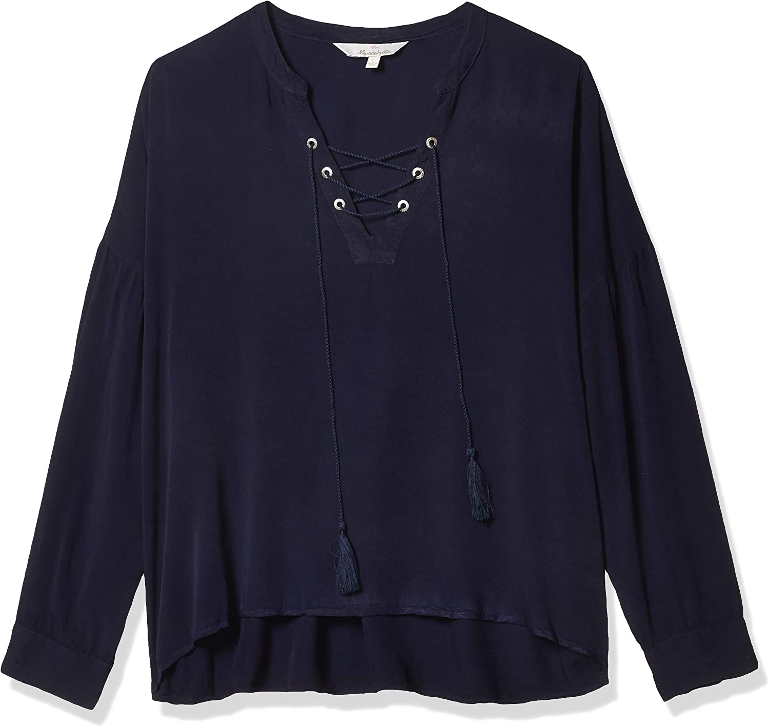 Margaritaville 早割クーポン Women's Long Sleeve Relaxed Up Fit Lace Everyday 18%OFF