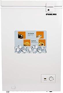 Nikai Chest Freezer 3.5 Cubic Feet 100 Liters White NCF150N20
