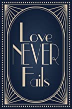 Love Never Fails: Wide Ruled Lined 120 pages Notebook for 2019 JW Convention