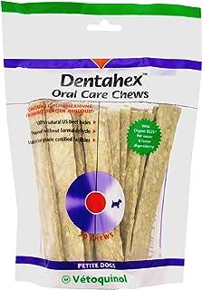 Vetoquinol Dentahex Oral Care Chews for Dogs