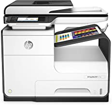 HP PageWide 377dw Color Multifunction Business Printer with Wireless & Duplex Printing (J9V80A) (Renewed)