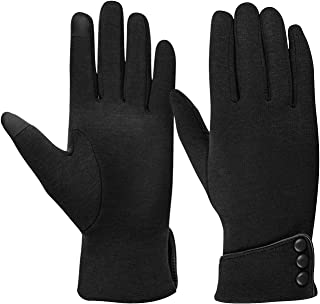 TONLION Womens TouchScreen Gloves Winter Gloves Warm Windproof Mittens