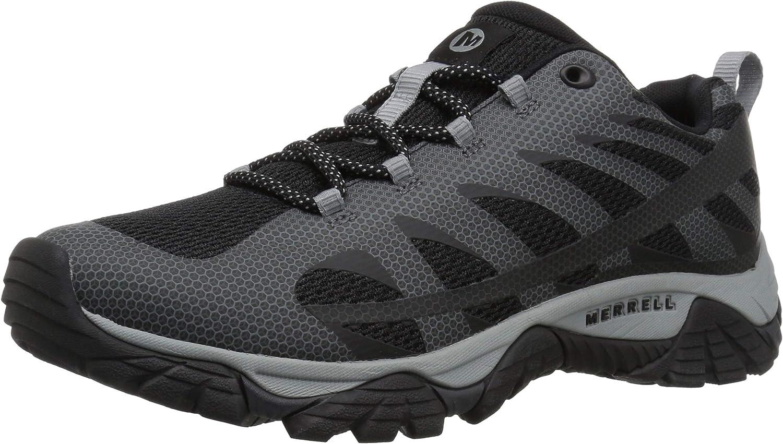 Merrell herrar Moab Edge 2 skor, svart, svart, svart, 14 M USA  80% rabatt