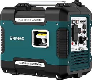 インバーター発電機 防音型 SAKOBS 正弦波 最大出力1.88Kw 50Hz/60Hz切替 並列運転機能 過負荷保護 地震 停電 アウトドアに適用 日本語取扱説明書付き 12ヶ月保証 (59db)