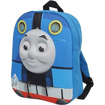 Thomas The Tank Engine 3D Pockets Blue Childrens Backpack School Bag Rucksack