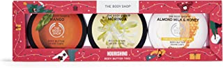 The Body Shop Nourishing Body Butter Trio Set, 5.0720999999999998 fluid_ounces (Pack of 1), 30.43 Ounce