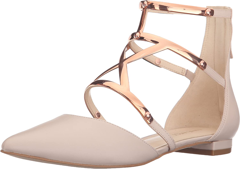 Nine West West West kvinnor Activista Synthetic Pointed Toe Flat  billigt och högkvalitativt