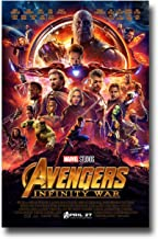 Avengers Infinity War Poster Movie Promo 18x27 inches Main Print Limited Edition Print Frameless Art Gift