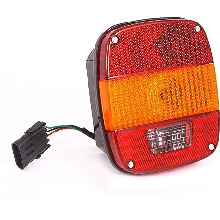TJ YJ Wrangler Omix-Ada 12403.14 Tail Light Assembly Fits 91-97 Wrangler