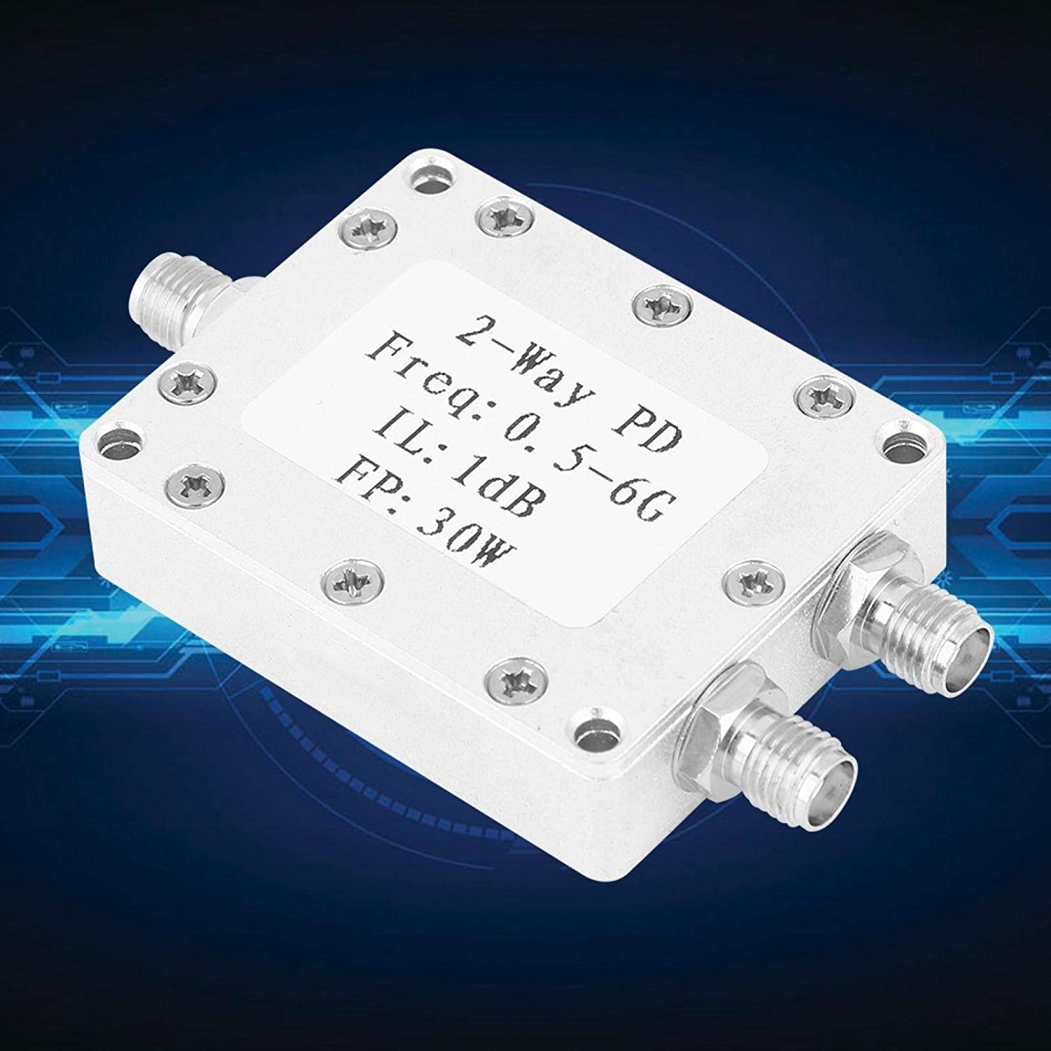 Power Divider Module, Corrosion Resistant Low Insertion Loss RF