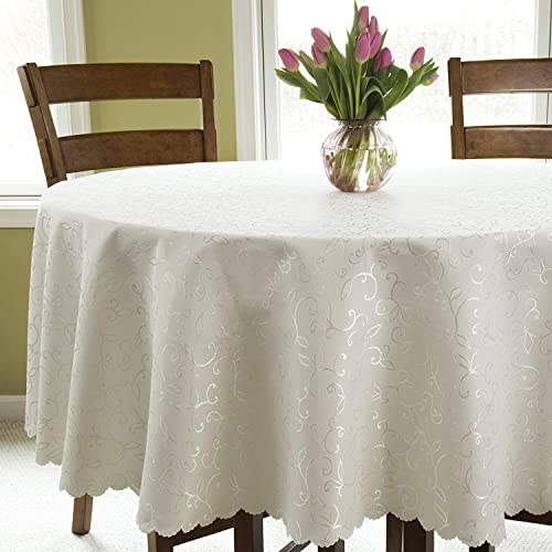 Outstanding 60 Inch Round Tablecloth For Wedding Amazon Com Home Interior And Landscaping Ponolsignezvosmurscom