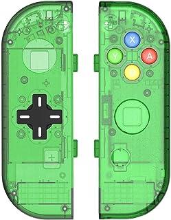 DIY ersättande skal skal skal set för Switch NS NX konsol och höger vänster strömbrytare Joy-Con Controller utan elektroni...