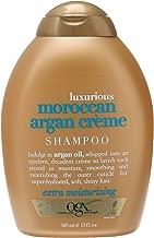 OGX Shampoo with Luxurious Moroccan Argan Creme, 13 Fluid Ounce