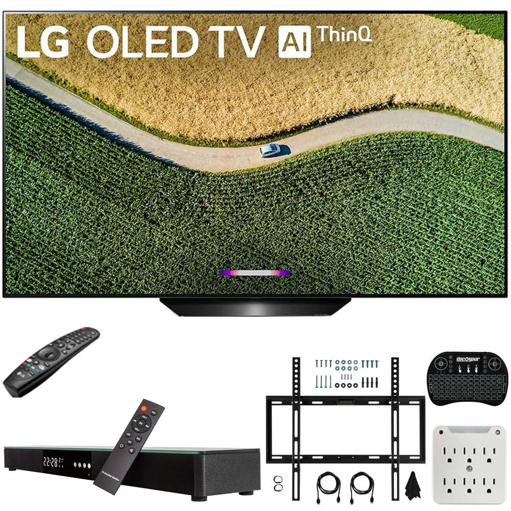 LG OLED55B9PUA Soundbar Wireless Keyboard