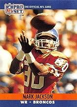 1990 Pro Set Football #486 Mark Jackson Denver Broncos