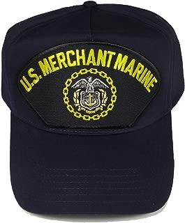 U.S. Merchant Marine W/Logo HAT - Navy Blue - Veteran Owned Business