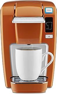 Keurig K15 Coffee Maker, Single Serve K-Cup Pod Coffee Brewer, 6 to 10 oz. Brew Sizes, Burnt Orange