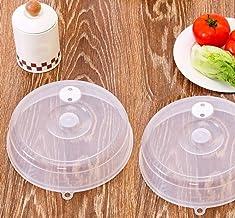 Ouneed Microwave Cover, 1 pieza PP alimentos tapa microondas aceite tapa cubierta calentada sellada multifunción polvo Dish cocina herramienta