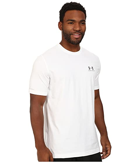 Footaction Cheap Online Under Armour Charged Cotton® Left Chest Lockup White/Graphite 100% Authentic For Sale Clearance Best Place Buy Cheap Cheap caBTXW