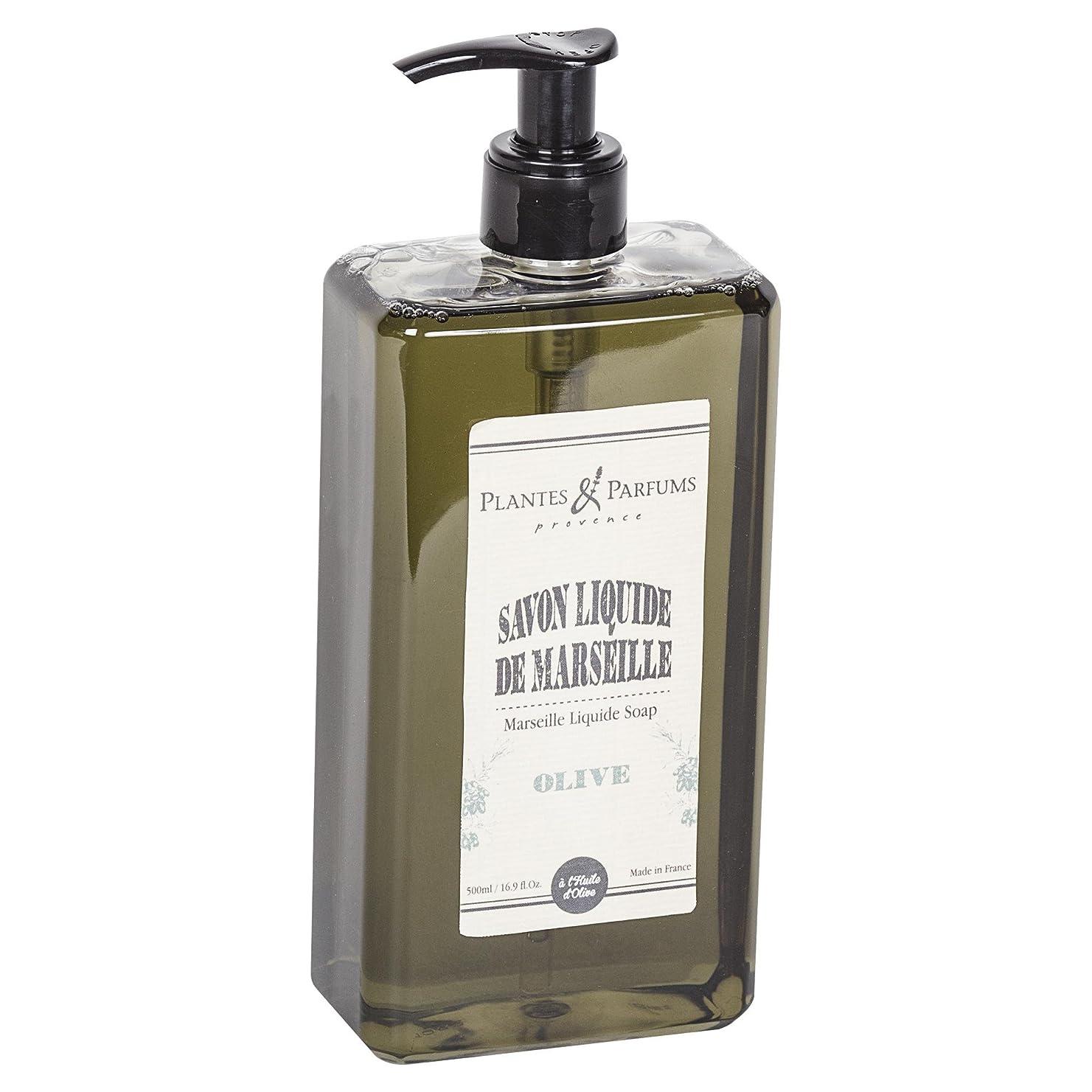 管理します満たすコイルPlantes&Parfums [プランツ&パルファム] マルセイユリキッドソープ オリーブ