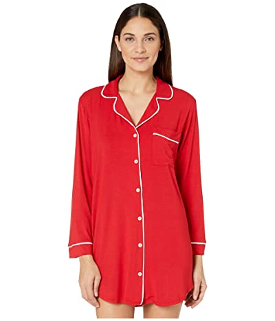 Eberjey Gisele The Boxed Sleepshirt (Haute Red) Women