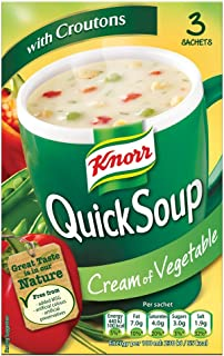 Knorr - QuickSoup - Cream of Vegetable - 58g