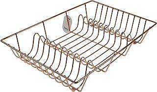 Apollo Housewares Dish Drainer, Copper, 10 x 33 x 48 cm