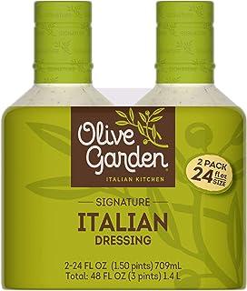 2/24oz Pack Olive Garden Signature Italian Dressing (Original Version) (Original Version)