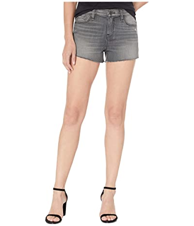 Hudson Jeans Gemma Mid-Rise Cut Off Jean Shorts in Don