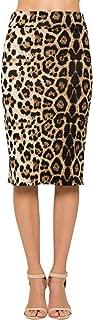 Junky Closet Women's Comfort Stretch Pencil Midi Skirt