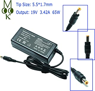 19V 3.42A 65W Laptop Adapter Charger for Acer Aspire 5253 7560 5750 5733 5517 5532 5742 5349 5534 4830t 5733z 5750z E15 E5-575 V5-571 ES1-531 ES1-531 V7 V3 R3 R7 S3 E1 M5 Series Power Supply Cord